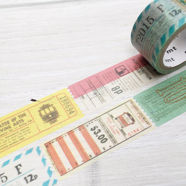 Mt masking tape masking tape mt fab hole perforated tape ticket