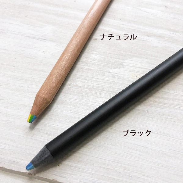 能给根据彩虹铅笔<7色彩色芯〉角度涂上各种各样的颜色的彩色铅笔