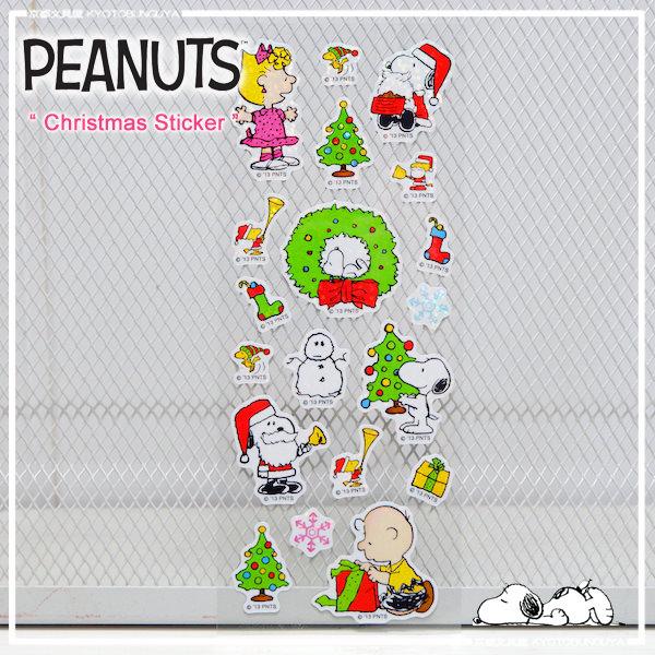 Snoopy Christmas Images.Peanuts Snoopy Christmas Sticker Seal White Hologram Xmas Snoopy