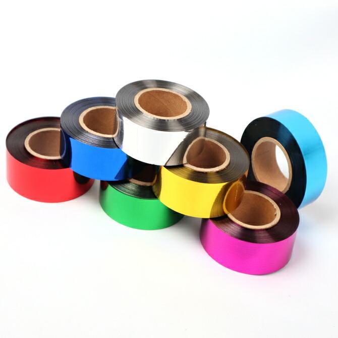 メッキテープ ポンポンの製作に 25mm幅でボリュームアップ パーティー会場などの飾りつけ NEWカラー 25mm幅×100m コンサートやライブに テープ 70%OFFアウトレット 新作多数