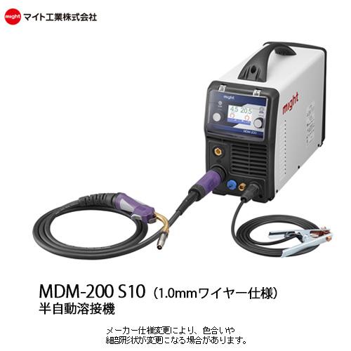 【送料無料】マイト工業 半自動溶接機 単相100V・200V兼用 Co2/MAG・MIG・TIG・手棒アーク溶接 MDM-200【1.0mmワイヤー仕様】, 鞄財布屋本舗(バッグサイフ):410153fa --- officewill.xsrv.jp