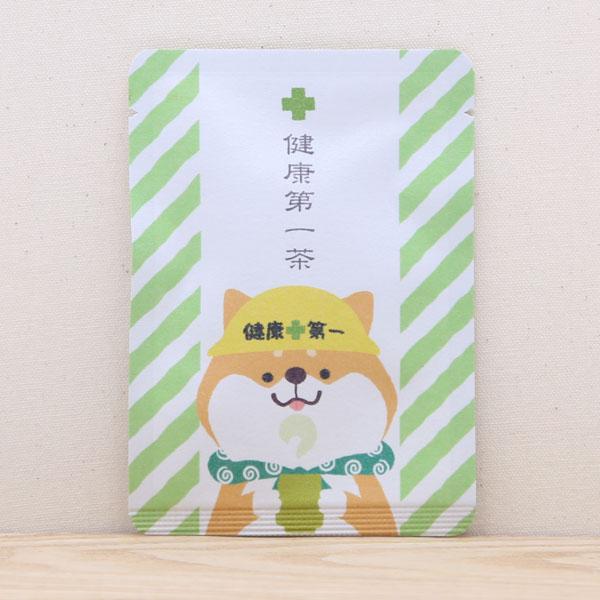 お茶と共に 気持ちを添えるごあいさつ茶 優しい風合いの和紙パッケージの中には京都の抹茶入煎茶玄米茶ティーバッグが1個入りです 健康第一茶 健康祈願 プチギフトやお土産にもぴったりな ごあいさつ茶 シリーズ 京都 宇治田原産抹茶入煎茶玄米茶ティーバッグ1包入 日本茶 プレゼント 犬 お茶 メーカー公式ショップ ティータイム わんわん かわいい 人気 おすすめ 柴犬 いぬ 贈り物 アニマル おしゃれ dog イヌ カードタイプ 動物