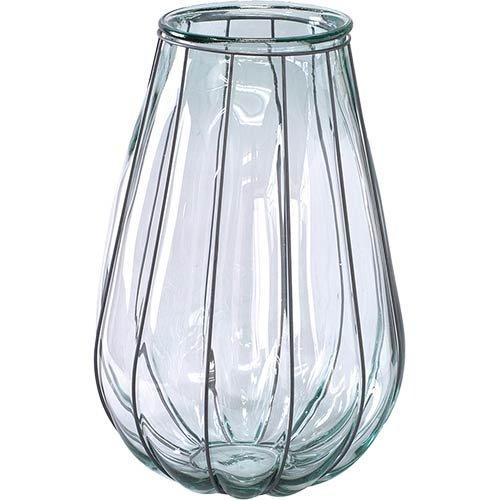 【スパイス】VALENCIA リサイクルガラスフラワーベース VEINTITRES クリア/VGGN1230/4548815051399