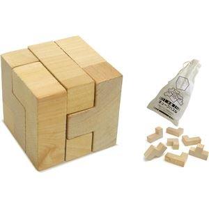 【30個セットまとめ買い】 /木製キューブパズル//1715