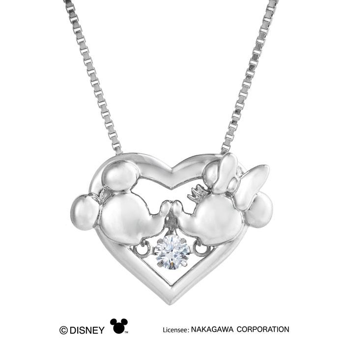ペンダント / クロスフォー / NDP-003 Heart Kiss ディズニー / 0146502-10003