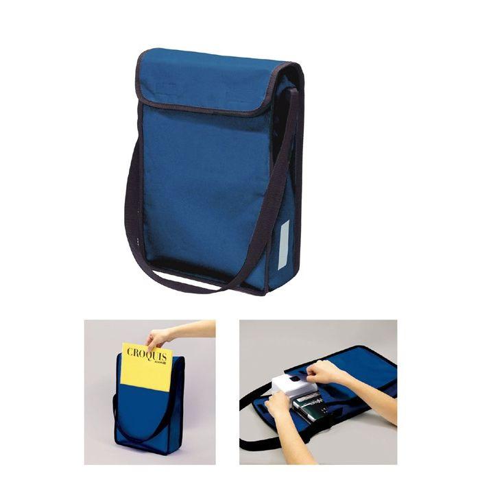 おまとめ15個セット A4 ショルダースケッチバッグ セール特別価格 国内送料無料 紺