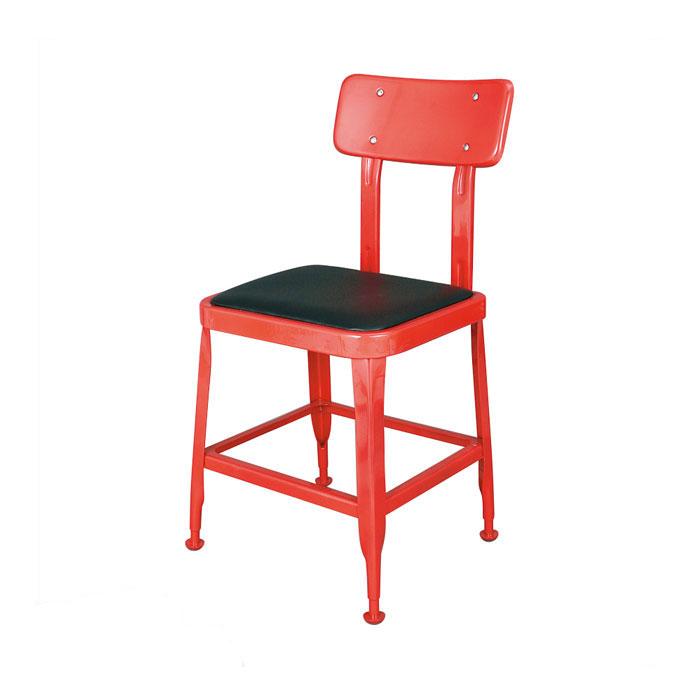 ダルトン スタンダード チェア レッド チェアー イス 椅子 ユニーク おしゃれ 背もたれ リビングチェア ダイニングチェア 【 DULTON STANDARD CHAIR RED 100-214RD 】