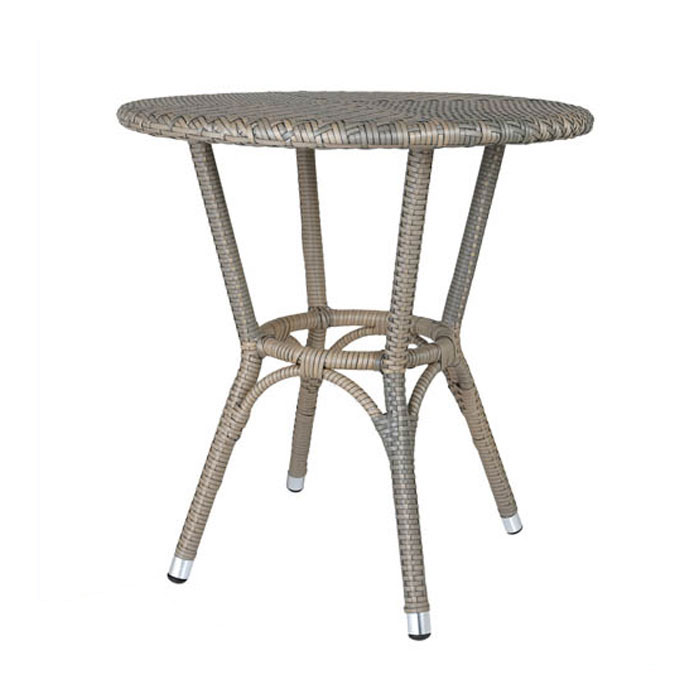 ダルトン ウィービング テーブル グレー ガーデンテーブル ガーデンファニチャー テーブル おしゃれ ガーデン 【 DULTON WEAVING TABLE GRAY OS101854GY 】