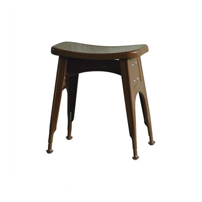 ダルトン キッチン スツール ブラウン スツール (背もたれなし) スチールスツール 金属 おしゃれ ユニーク 個性的 イス 椅子 【 DULTON KITCHEN STOOL BROWN 112-281BR 】