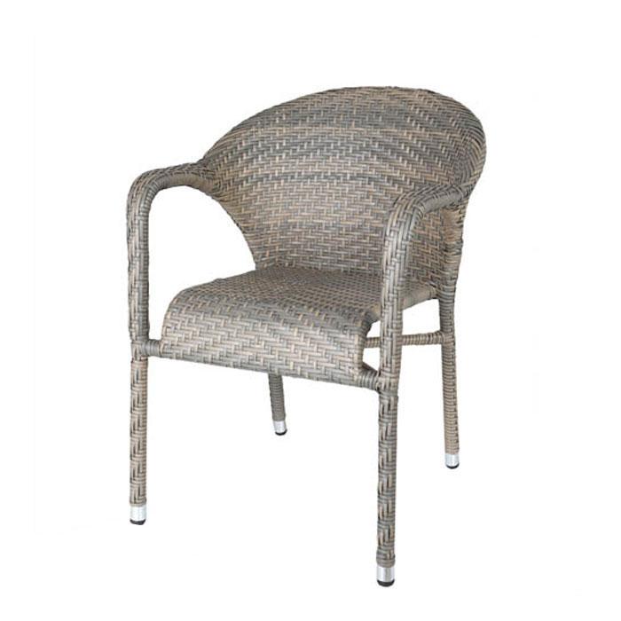 ダルトン ウィービング チェア グレー チェアー イス 椅子 ユニーク おしゃれ 背もたれ リビングチェア ダイニングチェア 【 DULTON WEAVING CHAIR GRAY OS203558GY 】
