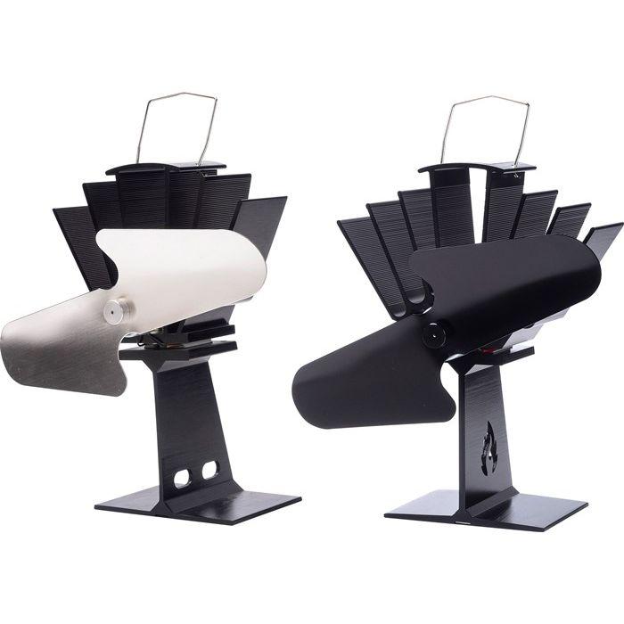 ストーブからでる暖かい空気を室内に循環させるため 暖房効率を格段に向上させます ストーブファン 高品質 テレビで話題 SF-800N シルバー