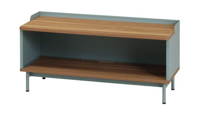 ルリク ローボード RRK-LB90(GN) / グリーン / 4933178127285 弘益 / 収納家具 テレビ台 ローボード