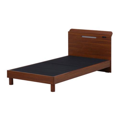 木製ベッド 宮・LEDライト付SD-1658