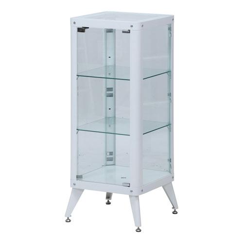 コレクションケース3段 WH コレクションケース コレクション収納 飾り棚