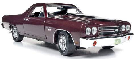 1/18 シボレー エルカミノ 100th 1970 (ブラックチェリー) / AMM1161 / 京商ダイキャスト 4548565356249