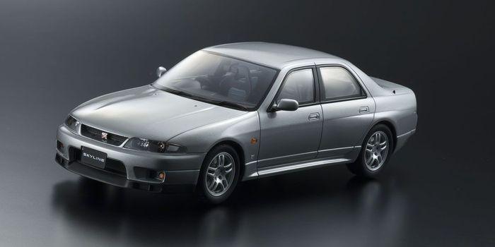ミニカー コレクション 趣味 ホビー KYOSHO ORIGINAL 1 予約販売 18 公式ショップ 18スケールミニカー シルバー オーテック KSR18041S スカイライン ニッサン GT-R