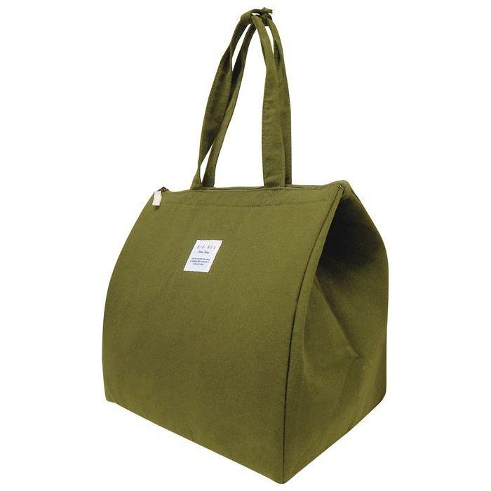 クーラーバッグ かばん クーラーバック 当店は最高な 正規取扱店 サービスを提供します シンプル おしゃれ スクエアバッグ オリーブグリーン 約23L BigBee