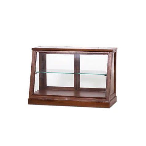 程よい高さで使い勝手の良いショーケース ガラス張りで圧迫感なくすっきりとしたディスプレイを演出できます お洒落 EWIG 海外輸入 ミニキャビネット 幅60cm×高さ40cm ディスプレイケース ショーケース コレクションケース 約 収納