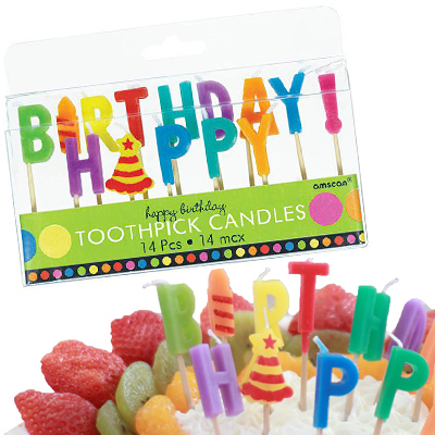 Birthday Candles For Sale