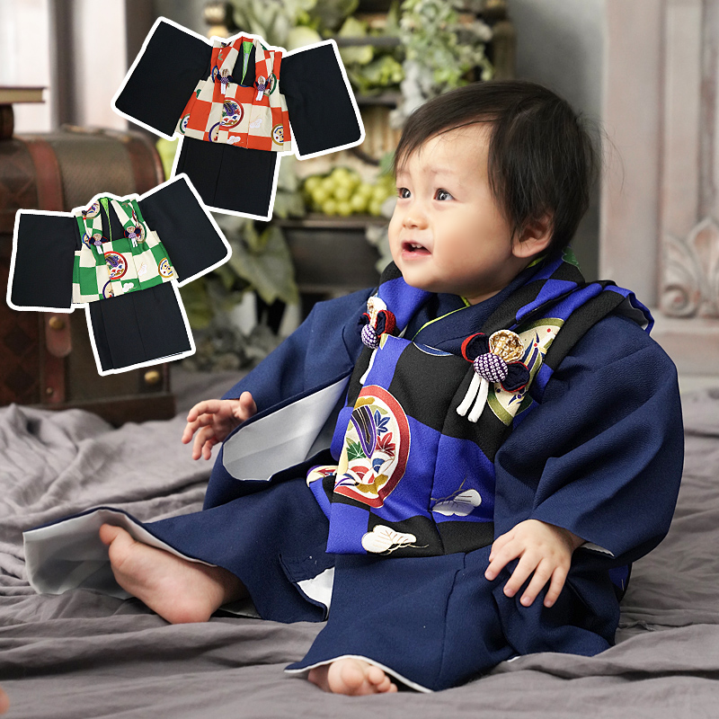 Boy Ceremony To Celebrate A Babys First Eating 100 Days Celebration Baby Kimono New Year Holidays