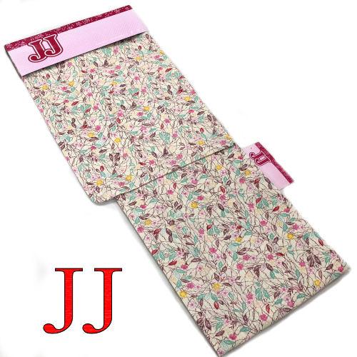 【送料無料】JJ 浴衣 お仕立て上がり ブランド浴衣 YUKATA フリーサイズ レディース ゆかた 単品 綿100% ベージュ ブラウン ピンク