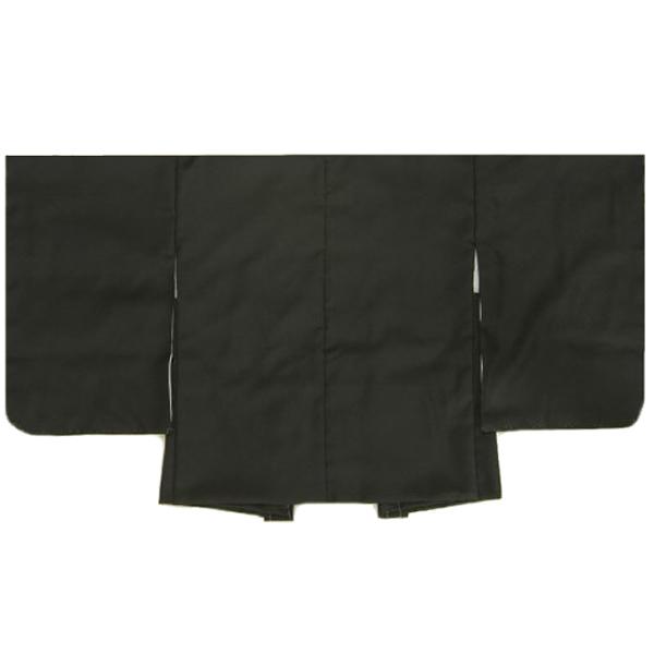 七五三男児着物 羽織単品 黒無地 3歳用 日本製