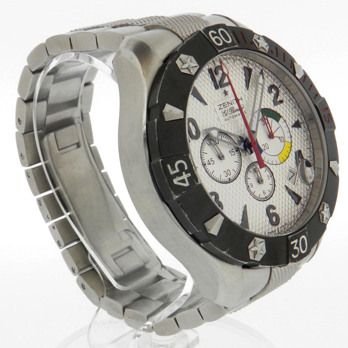 ZENITH デファイクラシック watch SS men