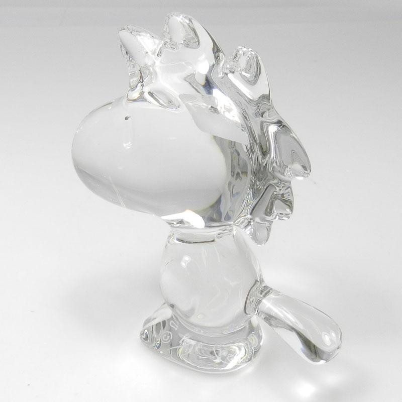 Baccarat Woodstock figurine Crystal unisex