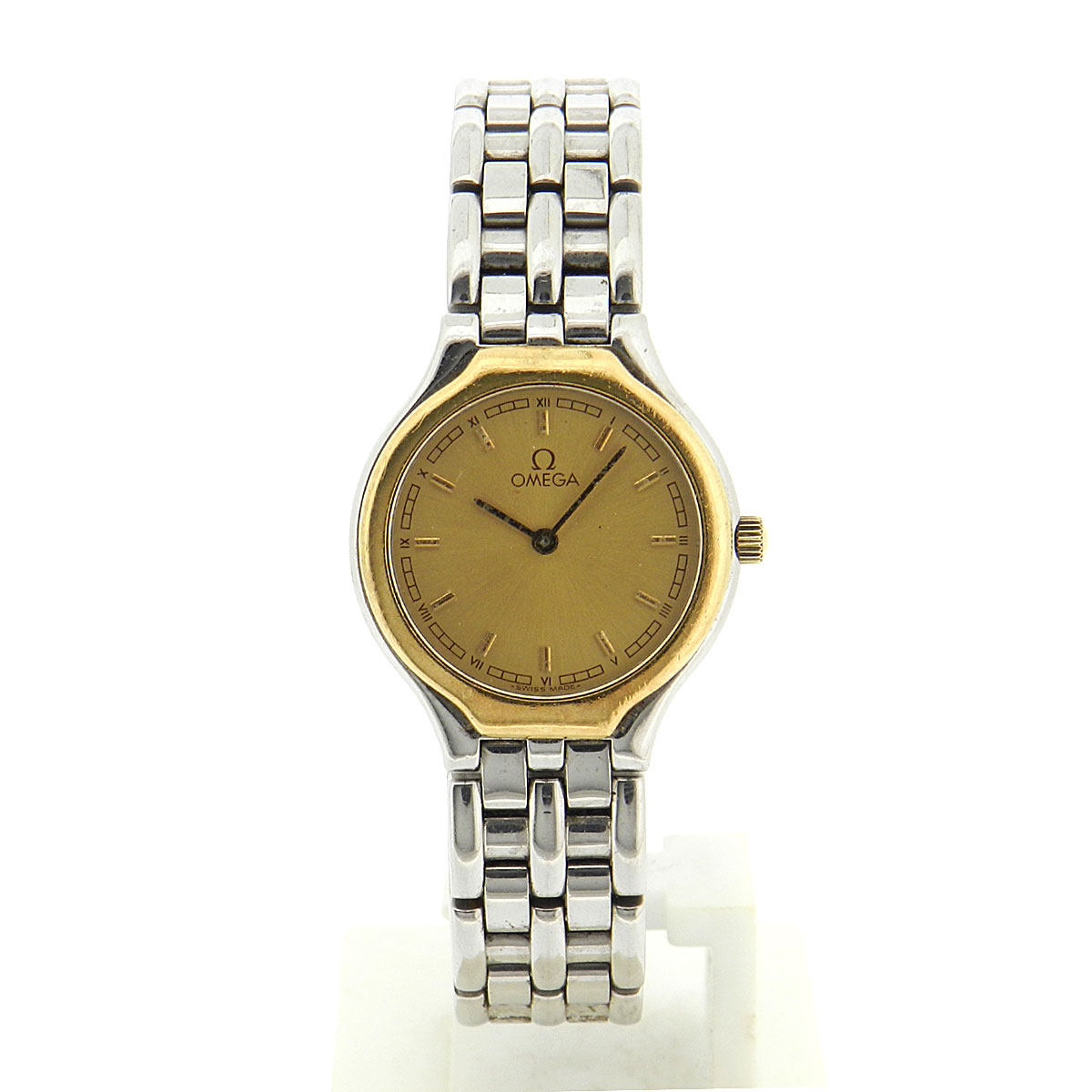 OMEGA symbol watch SS women