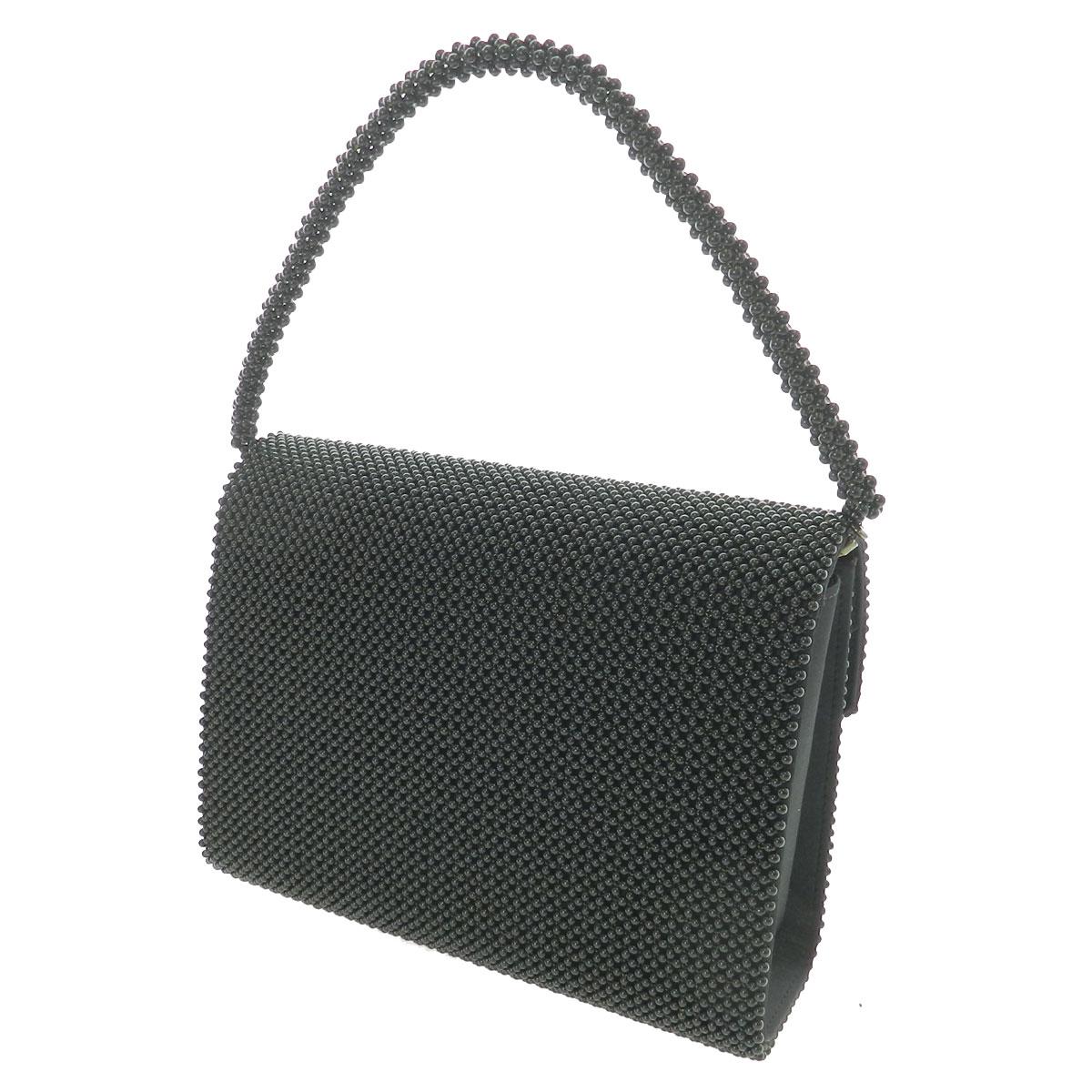 Yukiko Kimijima黑珊瑚正式2WAY包手提包黑珊瑚女士