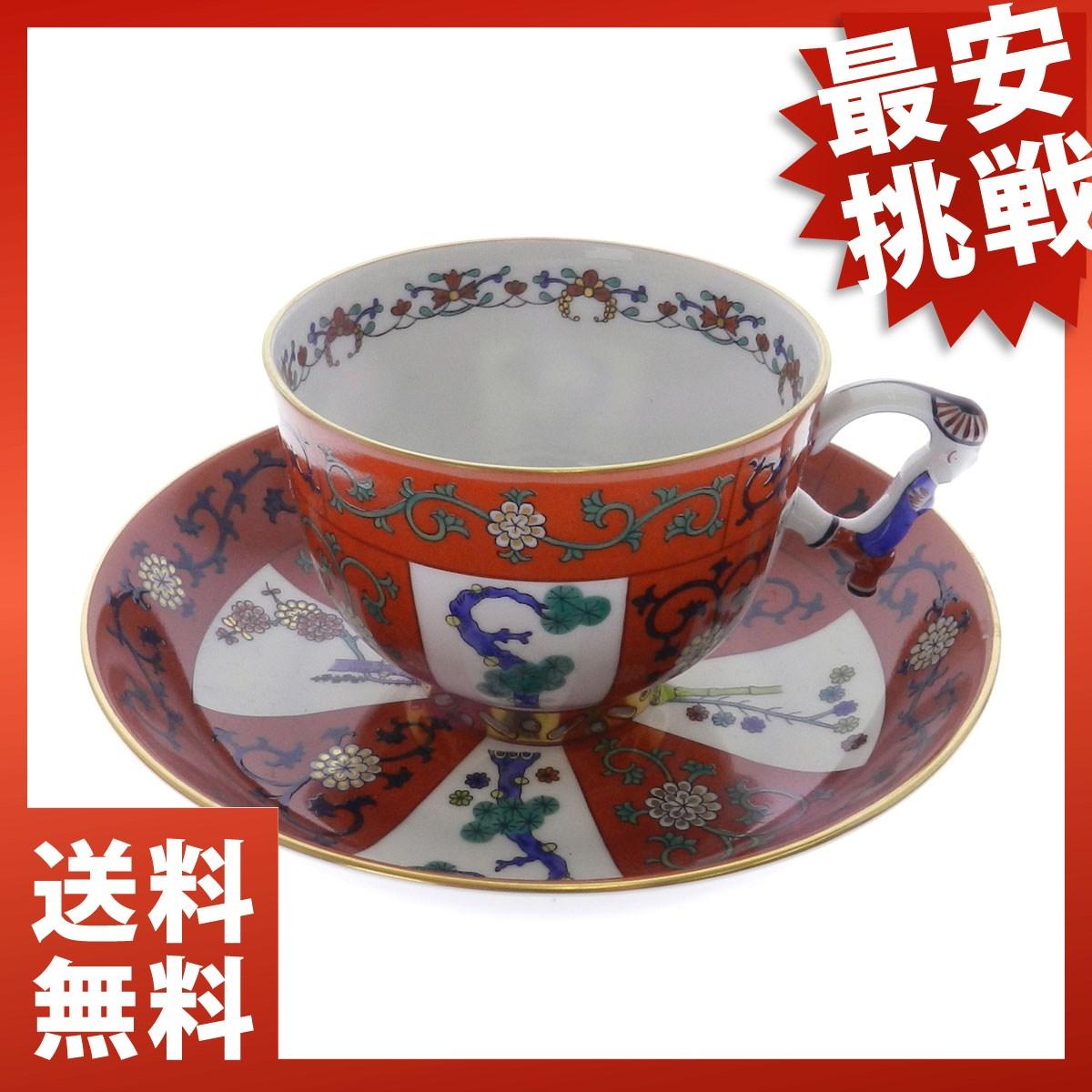 HEREND 手绘咖啡杯中国风 / ゲデレ 和西安红陶瓷男女皆宜