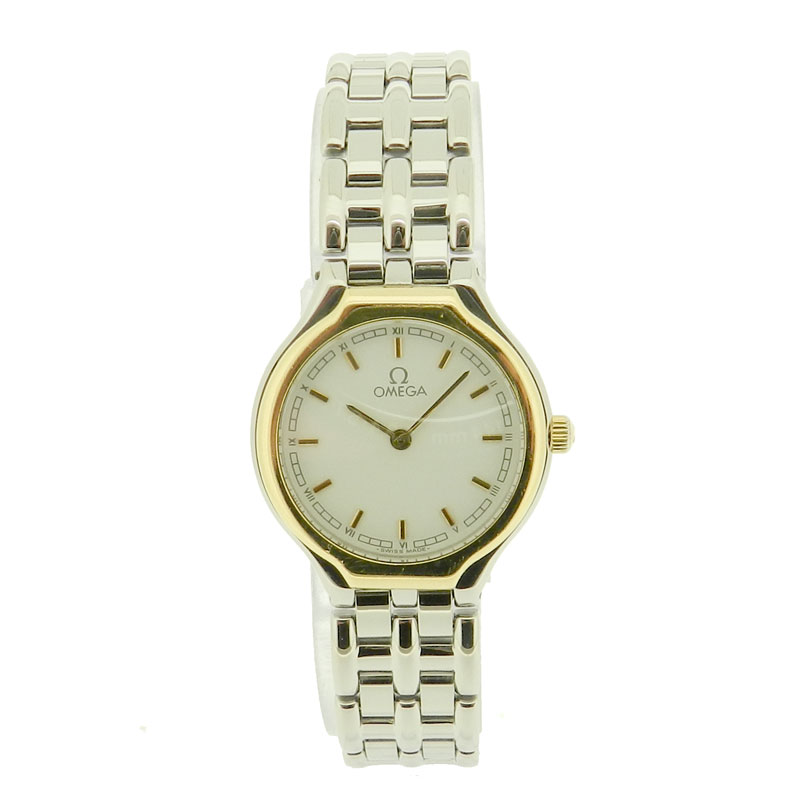 OMEGA symbol watch SS Womens