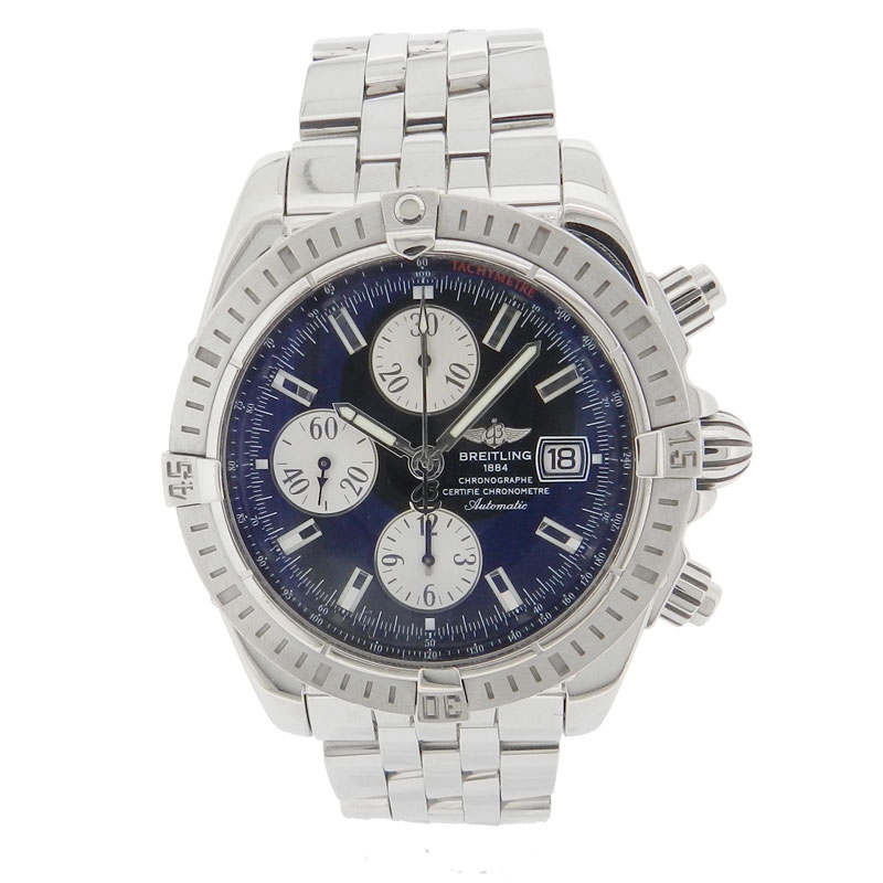 BREITLING chronomat evolution watch SS men