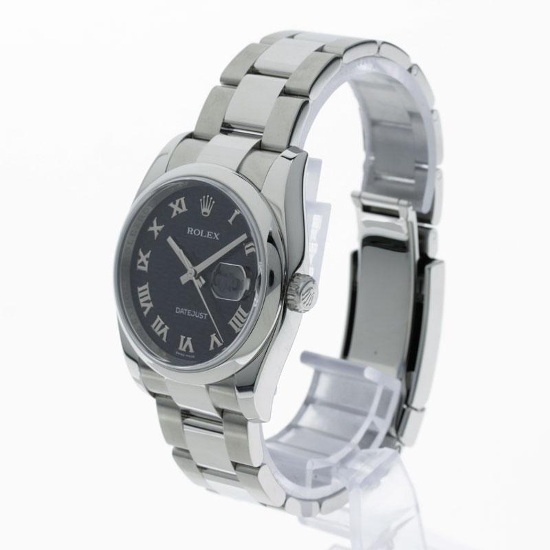 ROLEX Datejust 116200 SS mens watch