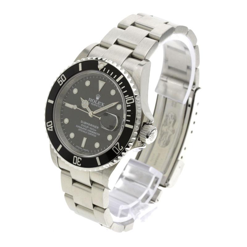 ROLEXRef.16610 Submariner watch SS men