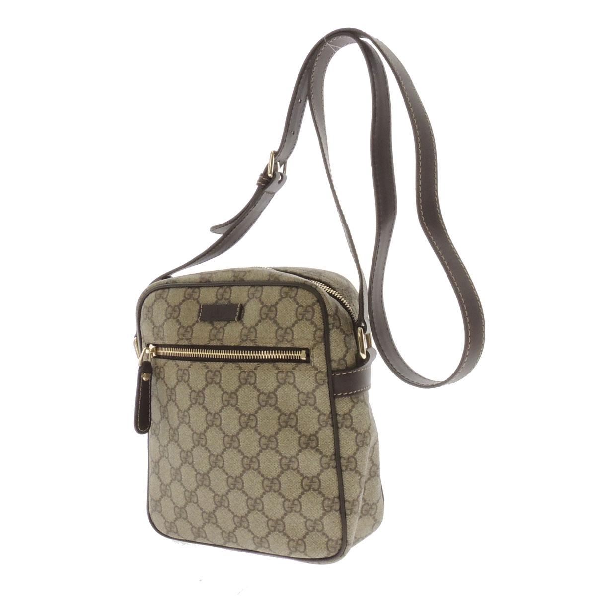 GUCCIGG handle tiny shoulder bag PVCx leather unisex