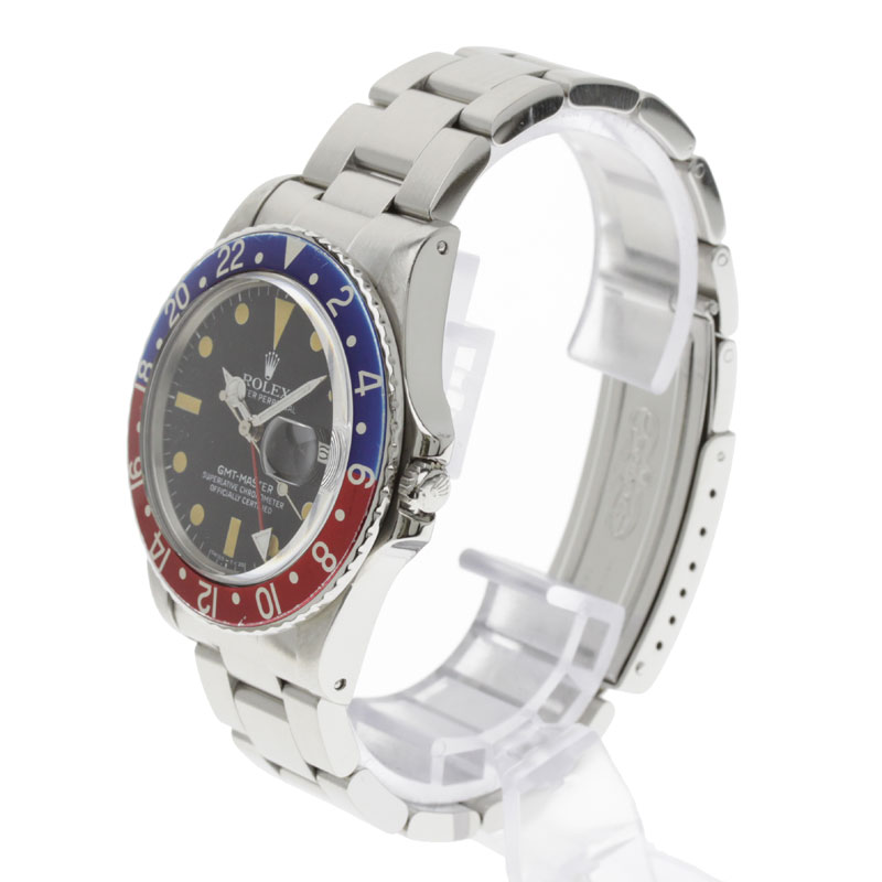 ROLEX16750 GMT Master watch SS men