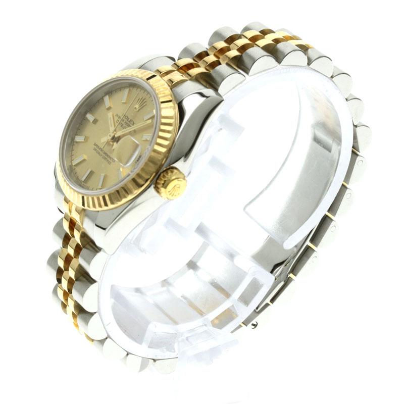 179173 ROLEX オイスターパーペチュアルデイトジャスト watch K18YG/SS men