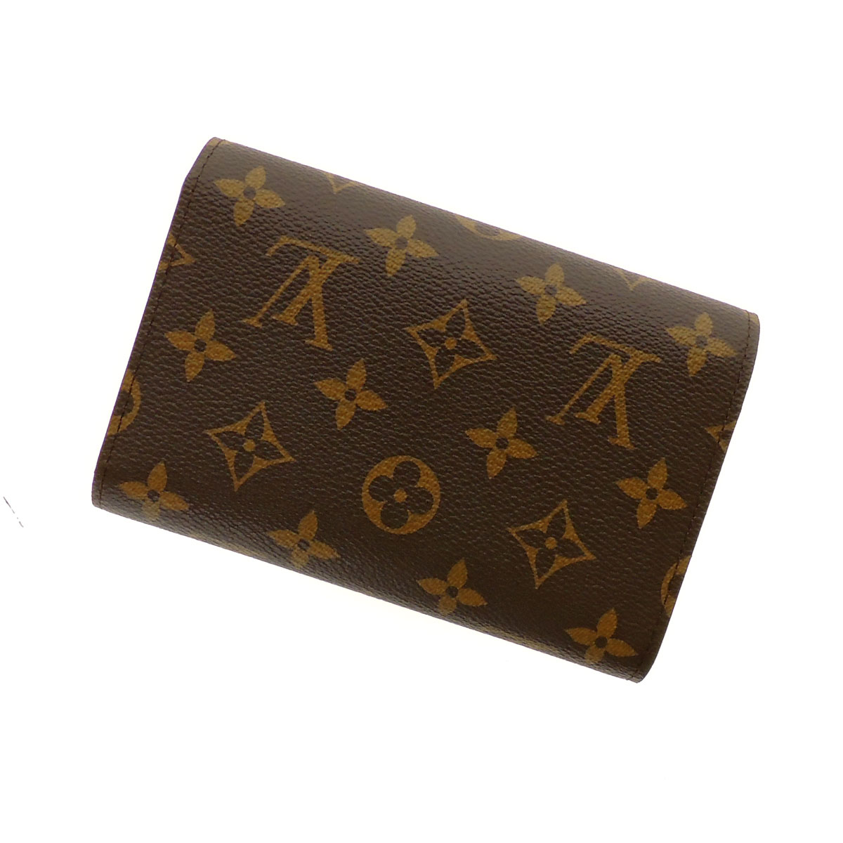 LOUIS VUITTON wallet & Alexandra M60047 two bi-fold wallets (purses and) Monogram Canvas ladies