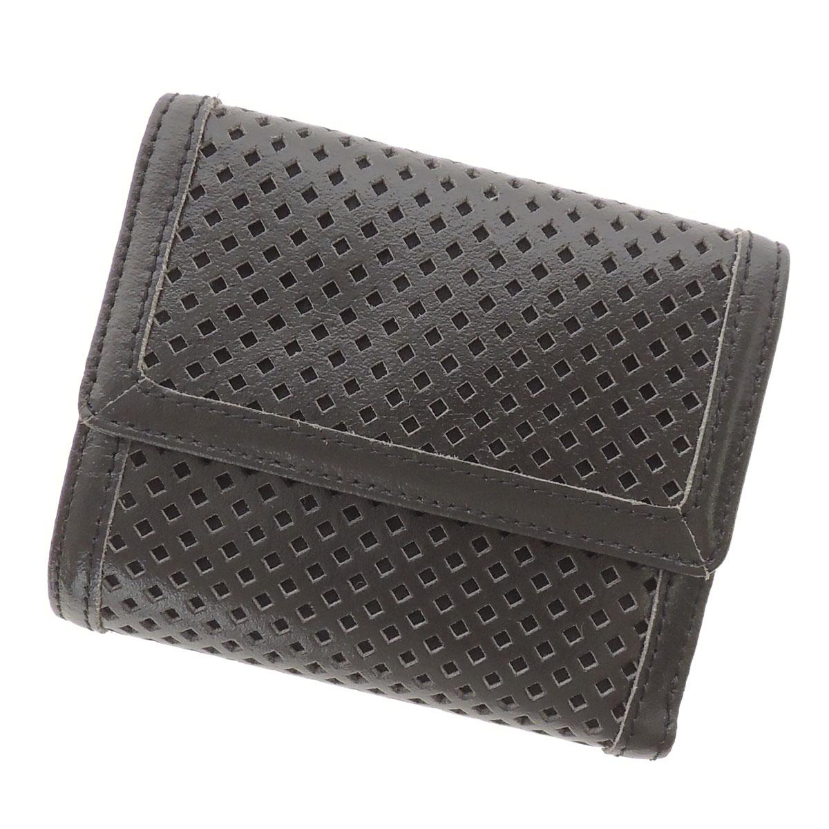 DIESEL punching wallets (purses and) leather ladies