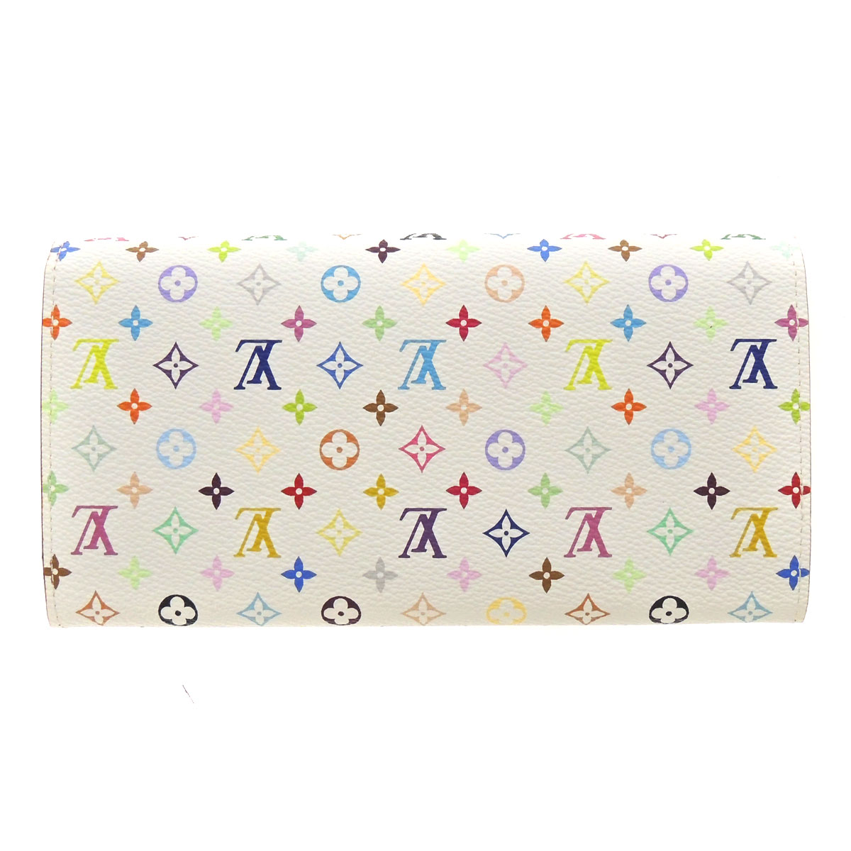 LOUIS VUITTON Pochette-port Monet, Credit Suisse M60004 wallet (purse and) ladies ' Monogram multi color canvas