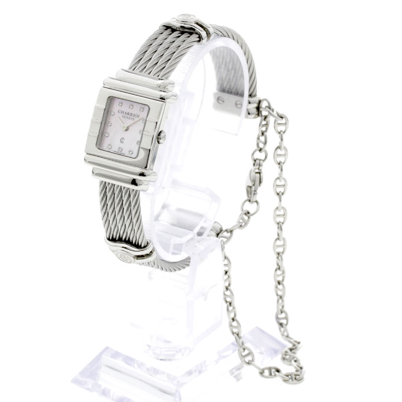 PHILIPPE CHARRIOL St. Tropez wristwatch SS Womens