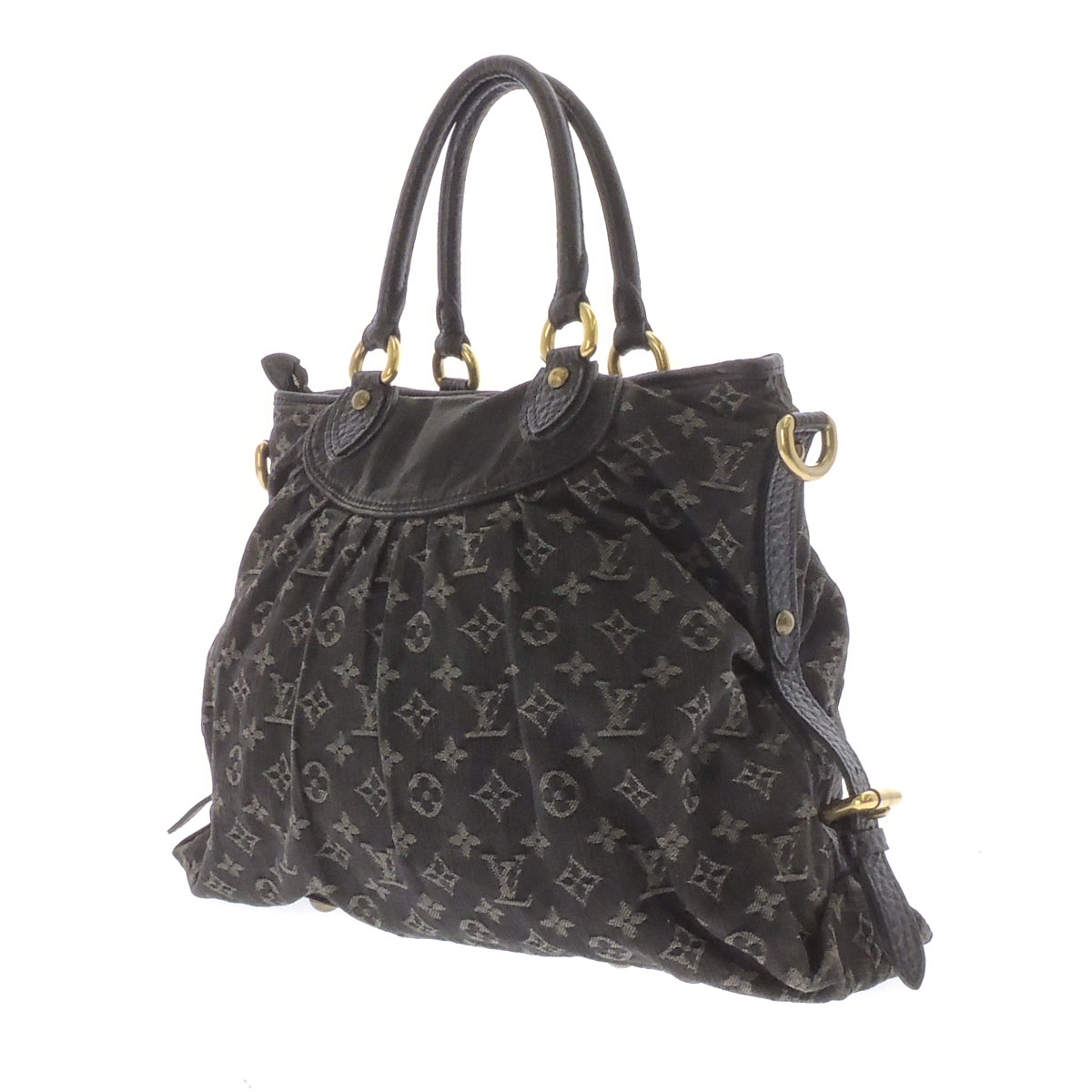 LOUIS VUITTON neo cabby MM M95351 shoulder bag Monogram Denim Womens