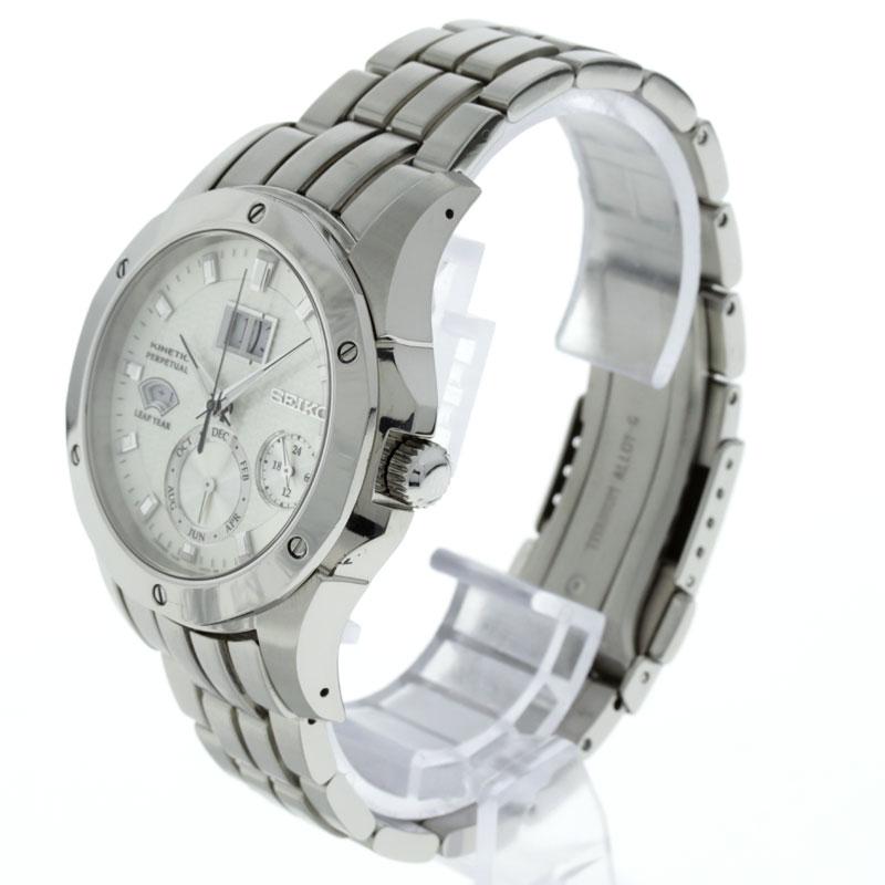 SEIKO brightz kinetic perpetual SAGV003 watch titanium mens
