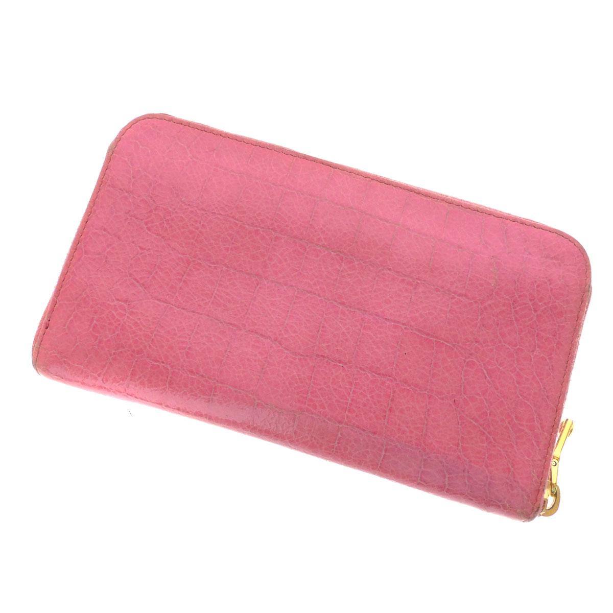 MIUMIU zip around wallet ( purses and ) enamel ladies