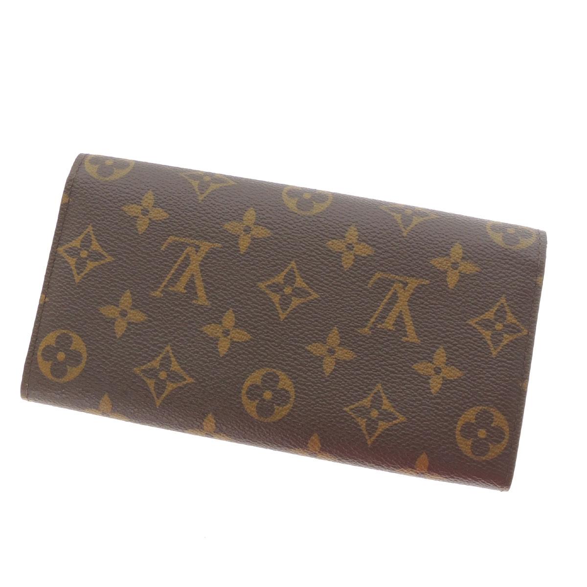 LOUIS VUITTON Porte foil & Sarah M60232 wallet (purse and) Monogram full women's fs04gm