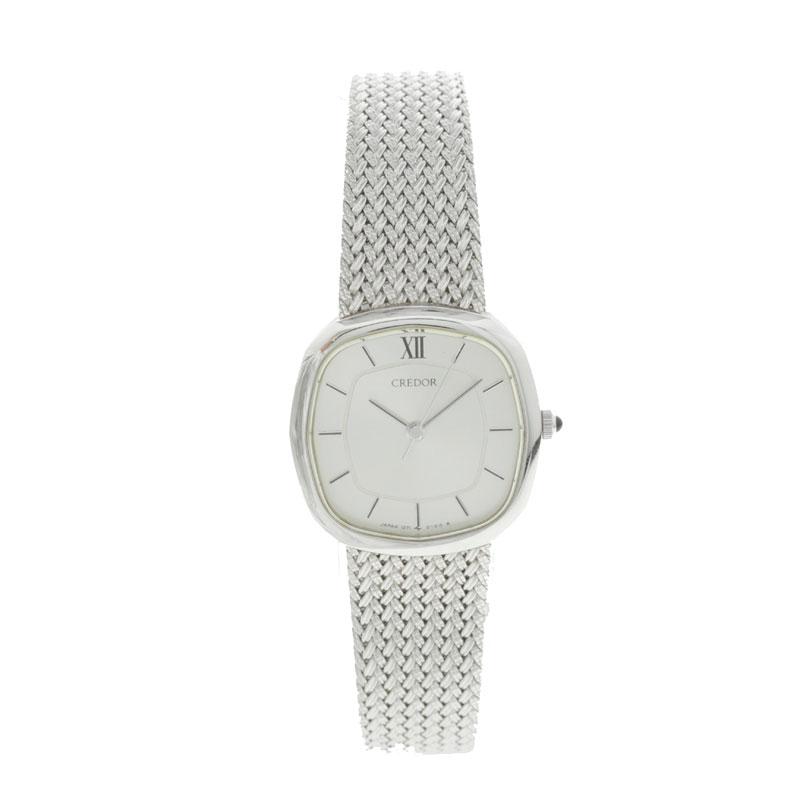精工 credor 1271 5030 SS 女装手表