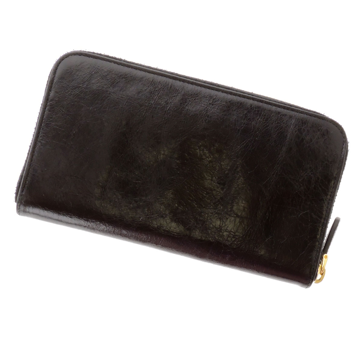 PRADA wallet Ribbon ( purses and ) Leather Womens
