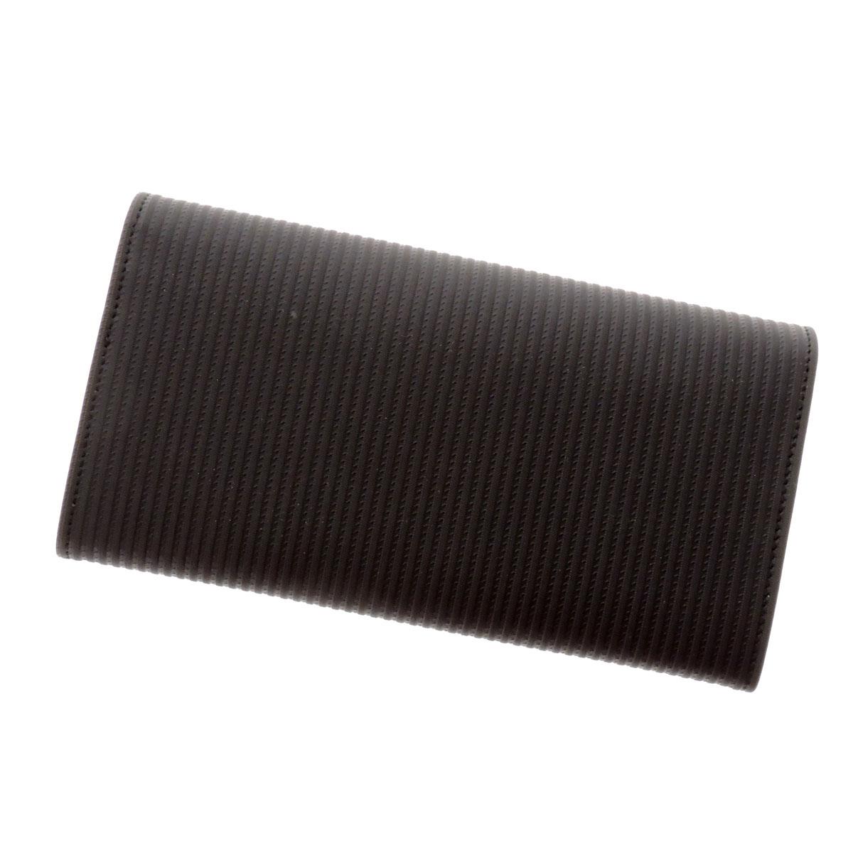 BVLGARI slim wallet ( purses and ) PVC x leather unisex