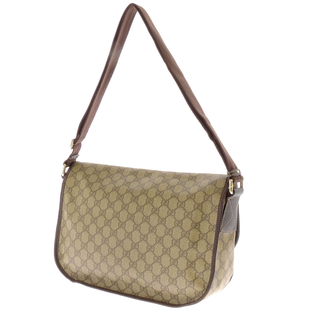 GUCCI tiny GG pattern shoulder bag PVC ladies fs3gm